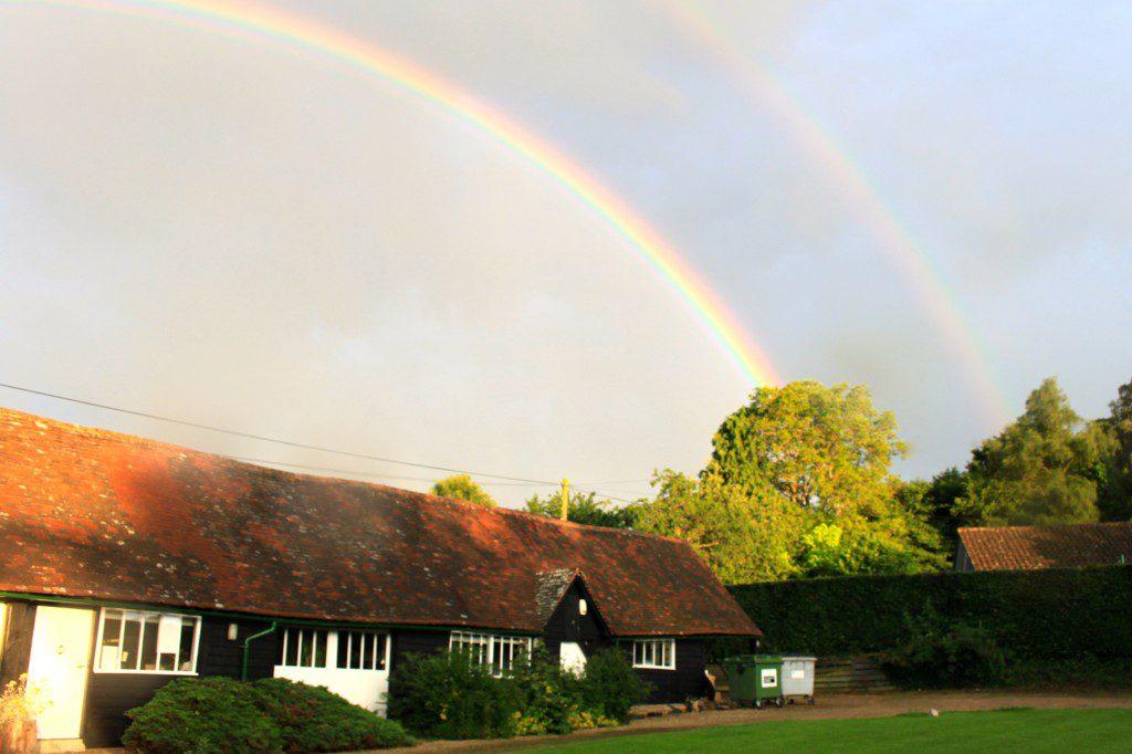 Double Rainbow over Albury